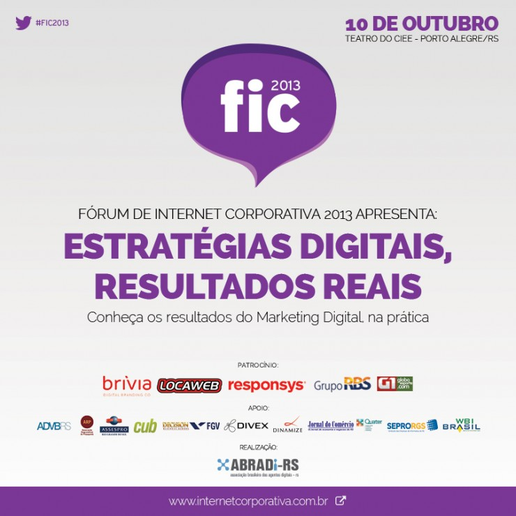Fórum de Internet Corporativa - FIC 2013