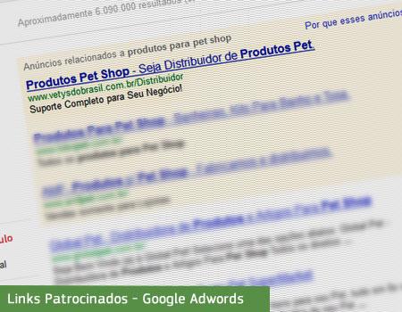 Vetys Links Patrocinados - Google Adwords