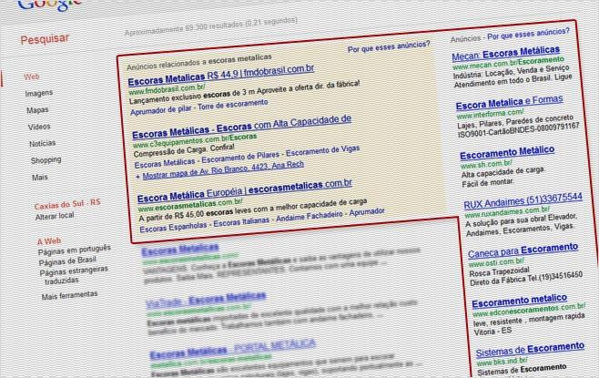 Rede de Pesquisa - Google Adwords